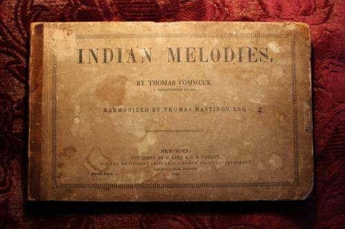 Indian Melodies by Thomas Commuck (photo)