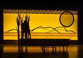 Sovereignty Set Design, Arena Stage; photo credit Cameron Whitman