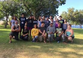 YIPAP Members Visit Pu'ukohola Heaiu and Henry Opukaha'ia's Gravesite